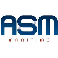 the logo for ASM maritime