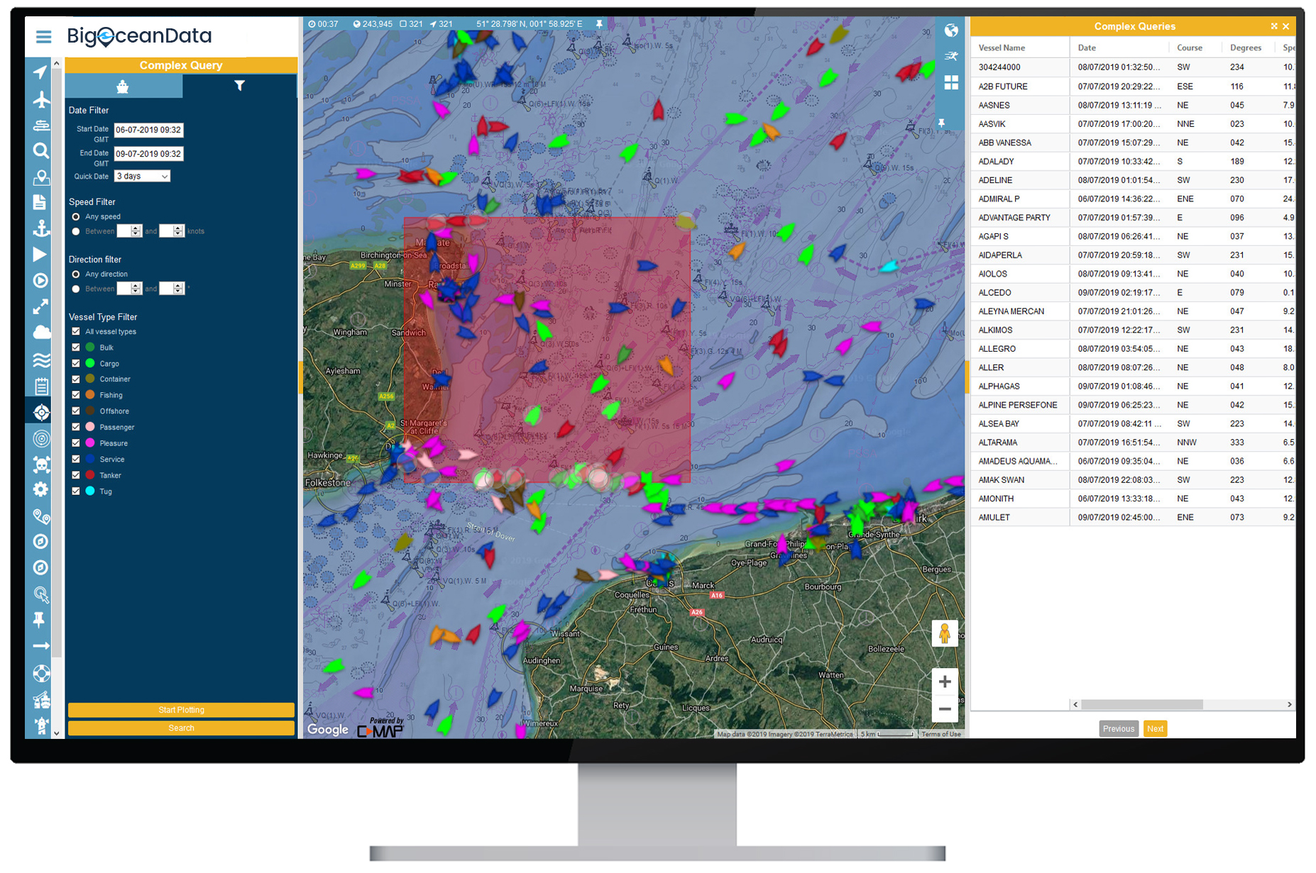 for quick vessel incident investigation software