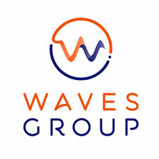 this is the coour logo for the Waves group