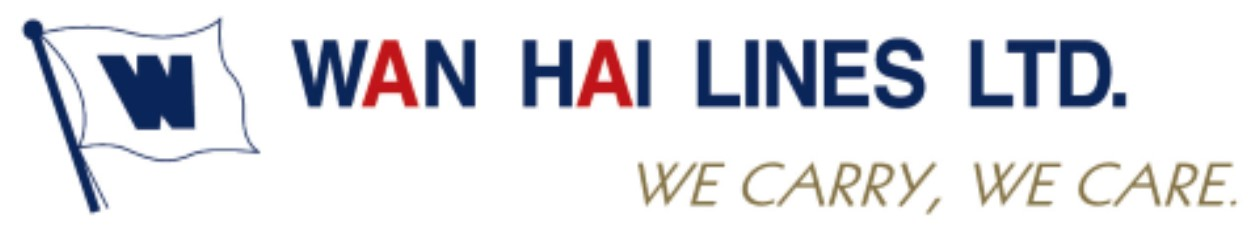 a colour logo for Wan Hai Lines